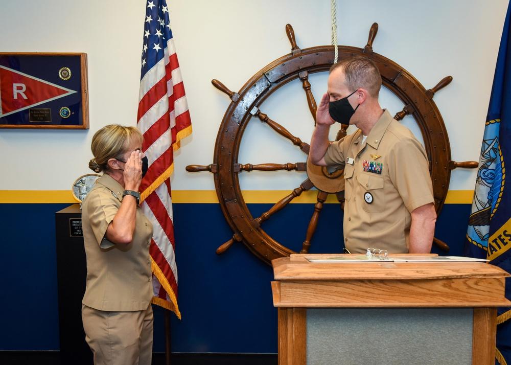 NTAG Houston Hosts Change of Command Ceremony