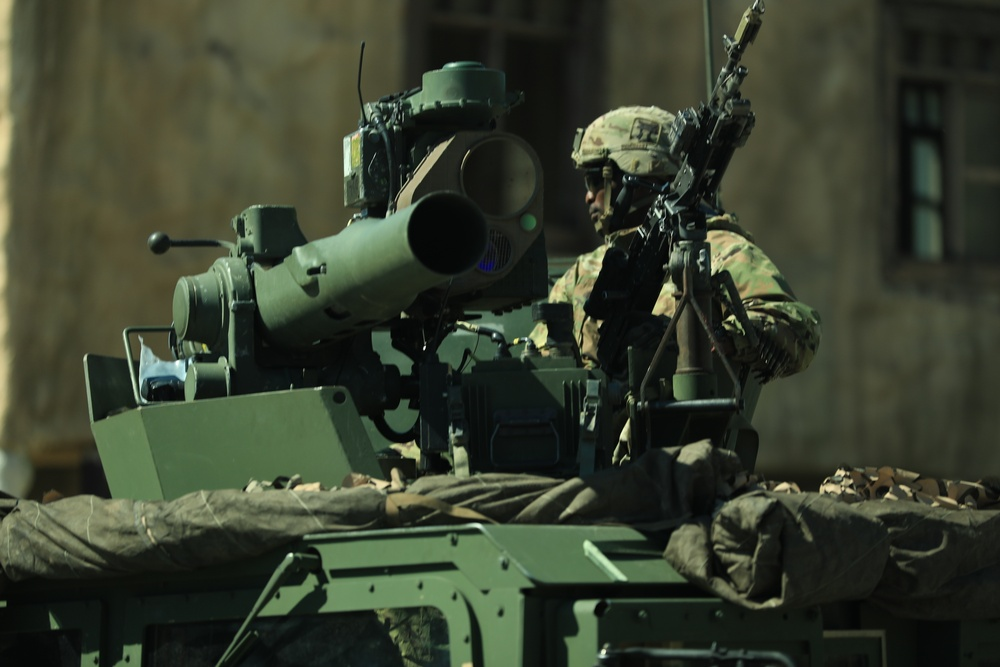 3 BCT Executes Rotational Training In Fort Polk
