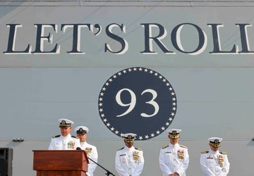 USS Somerset Holds Change of Command