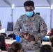 Soldiers help teach language classes to Afghan evacuees