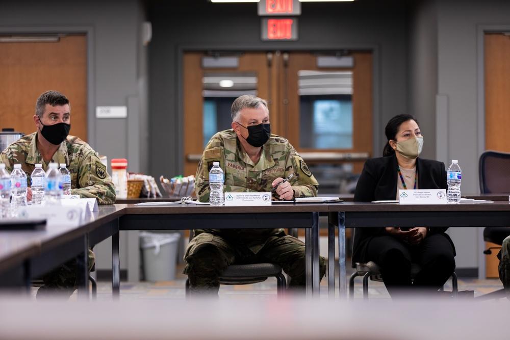 USNORTHCOM Commander Visits Task Force McCoy