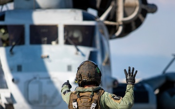 U.S. Marine Corps CH-53s deliver fuel to F-35s hundreds of miles away [Image 7 of 7]