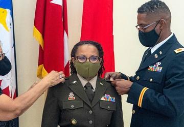 'Col. Daphne Davis promoted to brigadier general'