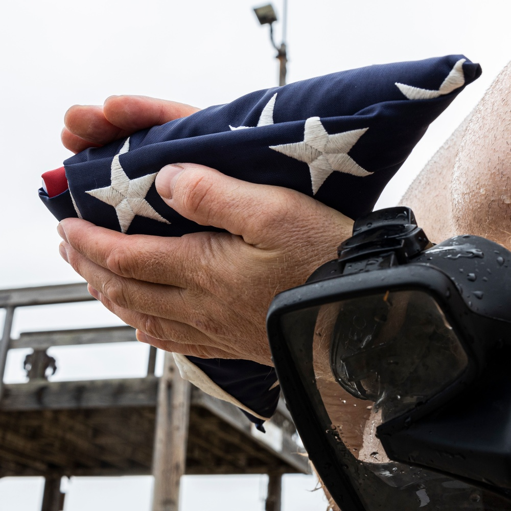 SEAL Team 1 Pays Tribute to its First Commanding Officer, the First SEAL