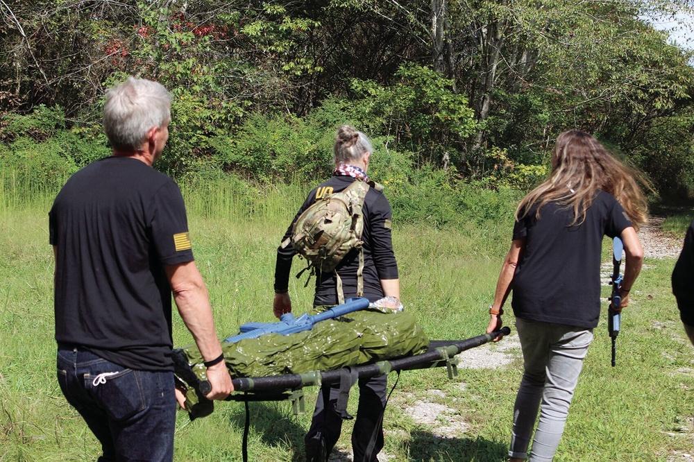 Team Unbroken trains in combat medicine at Rascon