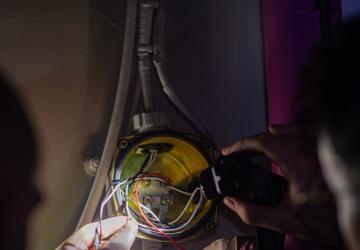 USS Carl Vinson (CVN 70) Sailors Perform Interior Maintenance