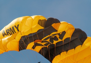 U.S. Army Parachute Team jumps in southern California