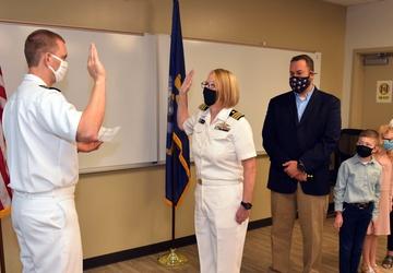 NAMRU San Antonio Executive Officer promoted to Navy Captain
