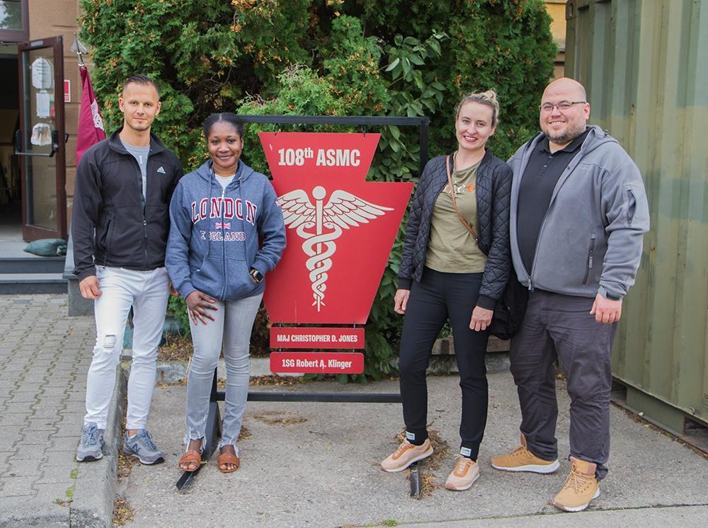 Polish raffle winners take tour of Forward Operating Site Powidz