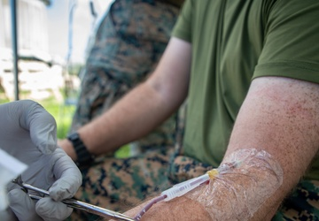 Valkyrie Training | 3d Medical Battalion conducts Valkyrie blood transfer course