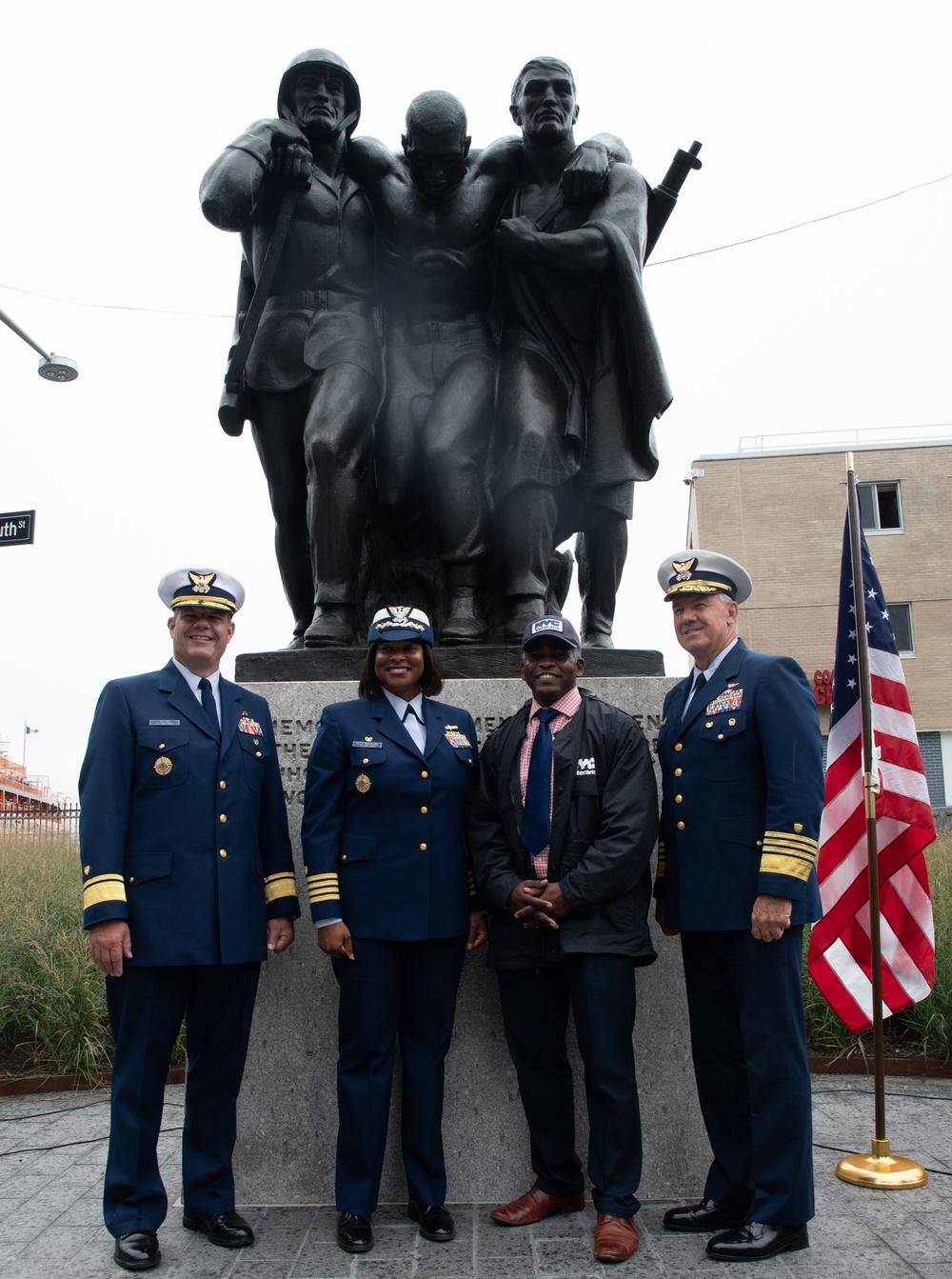 Coast Guard Memorial Rededication