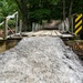 Flood Damaged Bridge in Cruso, North Carolina