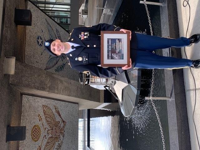 Wisconsin Guard member receives prestigious Richard Bong Award