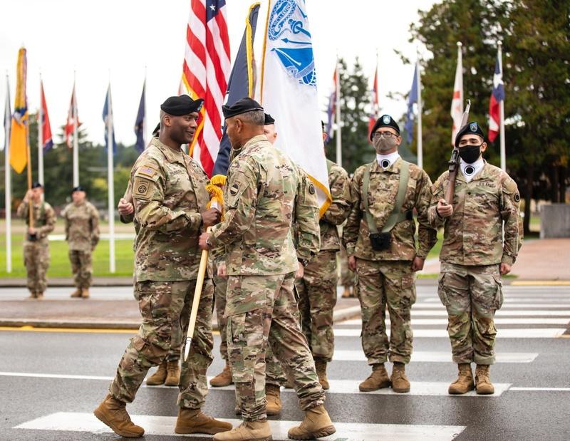 Lt. Gen. Xavier Brunson assumes command of America's First Corps, JBLM