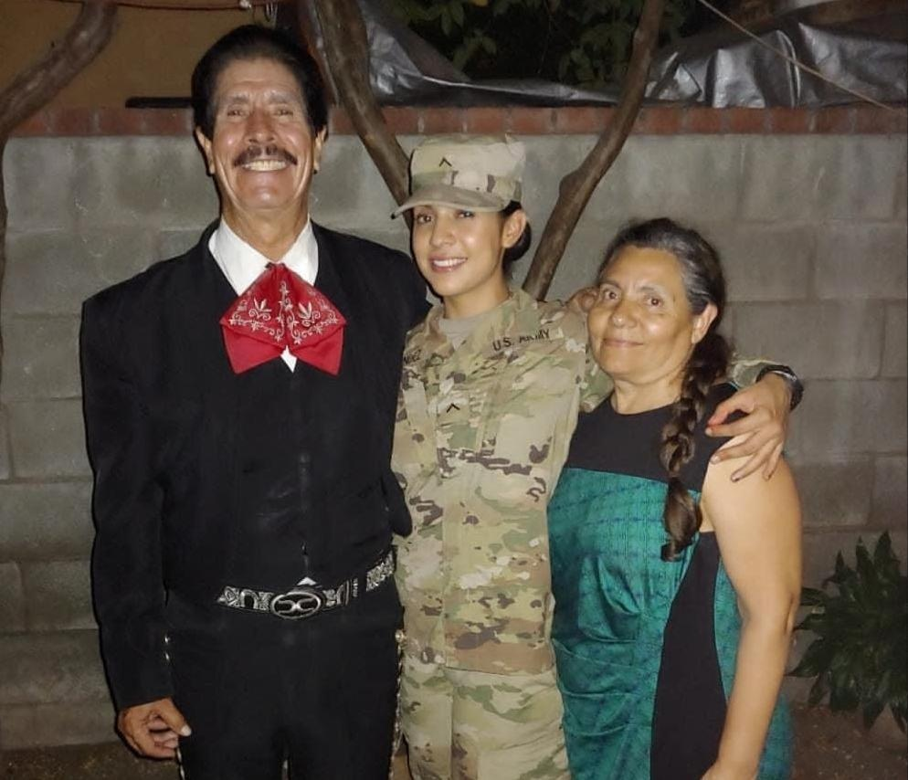 Army Reserve daughter of mariachi singer reflects on her Afghanistan, Qatar service