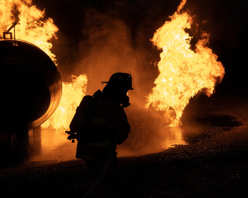Wright-Patt trains local firefighters
