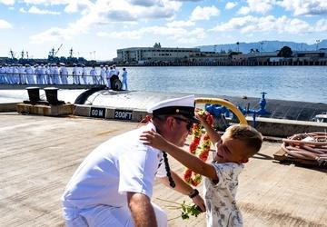 USS Jefferson City Returns from Deployment