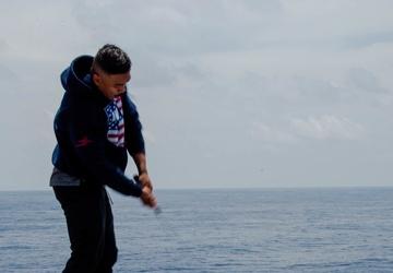 USS Carl Vinson (CVN 70) Sailors Participate in a Steel Beach Picnic