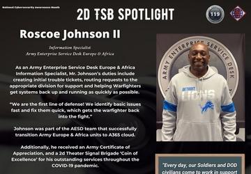 2d TSB Spotlight - Roscoe Johnson II