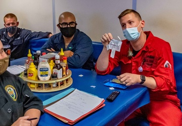 USS Charleston Sailors Receive Chemical, Biological, and Radiological Training