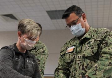 U.S. Navy Medical Team Integrates with Spokane Hospital